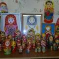 Совместное творчество детей и родителей старшей группы «Мини-музей «Русская матрешка»