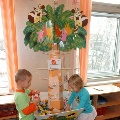 Развивающее дерево для дошколят