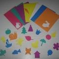 Дидактическая игра «Цветные фоны»