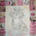 Мир кошек в детском творчестве