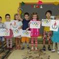 Конспект занятия педагога с детьми по рисованию и аппликации во второй старшей группе «Навстречу Олимпиаде!»