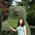 Цветочные скульптуры Красноярска