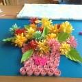 Цветы для наших мамочек. Бумагокручение