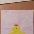 Осенний коллаж. Рисунки детей раннего возраста (2,6–3 года)