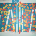 Изготовление коллажей, макетов в совместной работе воспитателей с детьми на тему «Осень золотая»