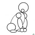Методика обучения детей рисованию животных при помощи геометрических фигур