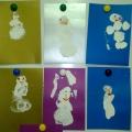 Выставка «Дефиле снеговиков»