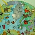 Дидактическая игра «Каждый на своем месте» из темы проекта «Мир животных»