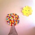 «Сердечное дерево». Коллективная работа по аппликации