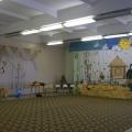 Оформление зала к празднику осени.