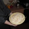 Салат из китайской капусты.