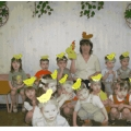 Музыкально-подвижная игра «Курочка и цыплята»