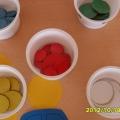 Дидактические игры для детей от 2 до 3 лет, на развитие мелкой моторики и чувства цвета.