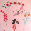 Рисование цветов, используя декоративные элементы.