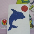 Пластилинография «День дельфина и день мячика» для детей первой младшей группы.