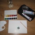 Мастер-класс «Краски из зубной пасты»