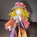 Мастер-класс «Куклы Веснянки из бумаги» (видео). Мультфильм из детских поделок (видео)