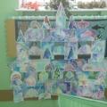 «Ледяной дворец зимы»— акварель, коллективная работа