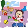 Кирилл Авдеенко «Домовята и каша»