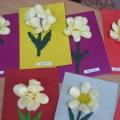 Цветы для мамы из пластилина и строительной пены