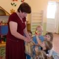 НОД по реализации ОО «Коммуникация» с детьми раннего возраста «Поможем зайчику»