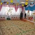 Оформление музыкального зала в детском саду к весеннему празднику!