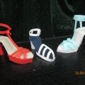 Моделирование обуви из бумаги