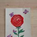 Конспект занятия по рисованию нетрадиционным способом «Подарок для мамы»