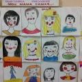 Выставка детских рисунков, посвящённая Дню матери