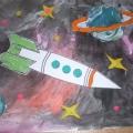 «Космическая фантазия». Пластилинография