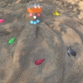 «Песочные фантазии». Конкурс детских построек из песка