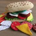 Вязаное дидактическое пособие по РЭМП «Бутерброд»