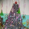 «Новый год у ворот— украшения он ждёт!»— оформление группы к Новому году