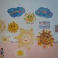 Мини-выставка «Солнышко лучистое»