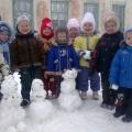 Наши веселые снеговики. Стихи о снеговиках.