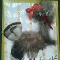 «Каркуша» из перьев домашних птиц