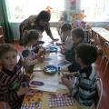 Празднование дня космонавтики в детском саду.