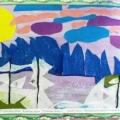«Ждём зиму и Новый год». Коллективное творчество моих воспитанников.
