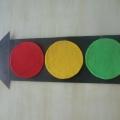 Дидактическая игра по ПДД «Светофорик» для детей от 3 до 4 лет
