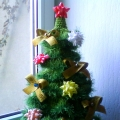 Мастер-класс: «Зелёная новогодняя красавица»