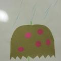 Аппликация «Зонтик»