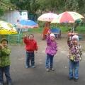 Цветные зонтики против непогоды