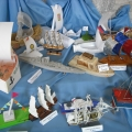 Конкурс совместного творчества детей и родителей «Весенняя флотилия».