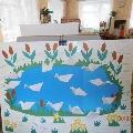 Панно птицы (оригами)