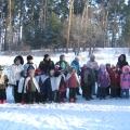 Городской зимний спортивный праздник «Зарница»