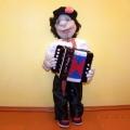 Авторская кукла «Гармонист Ванюша»