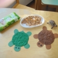 Игровой сеанс с детьми в адаптациенный период «Черепаха»