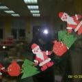 Украшение для группы к Новому году «Гирлянда «Дед Мороз»