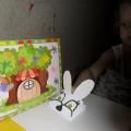 Создание бумажного театра «Теремок»