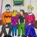 Конкурс рисунков «Моя семья», в детском саду